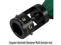 Tru Point Tungsten Electrode Sharpener Welding Tool Black