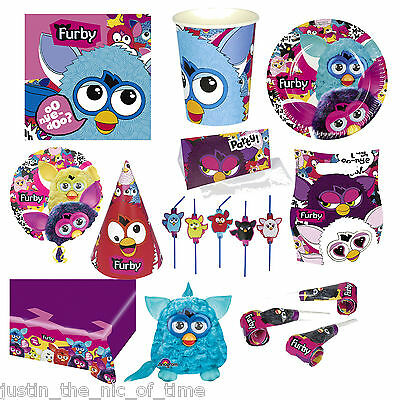 Furby Boom Toy Furbies Party Supplies Tableware Childrens Themed Birthday Ideas - Birthday Party Themes Ideas