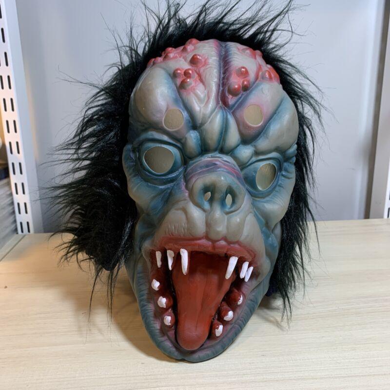 Vintage Topstone Latex Rubber DEMON Halloween Monster Mask Retro Scary