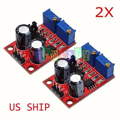 Ne555 Duty Cycle Frequency Adjustable Square Wave Signal Generator Board Module