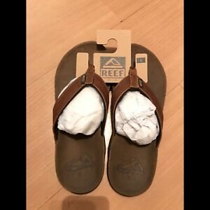 f285d19309bc Reef J-Bay III leather thongs   47  sandals camel brown size US9 ...