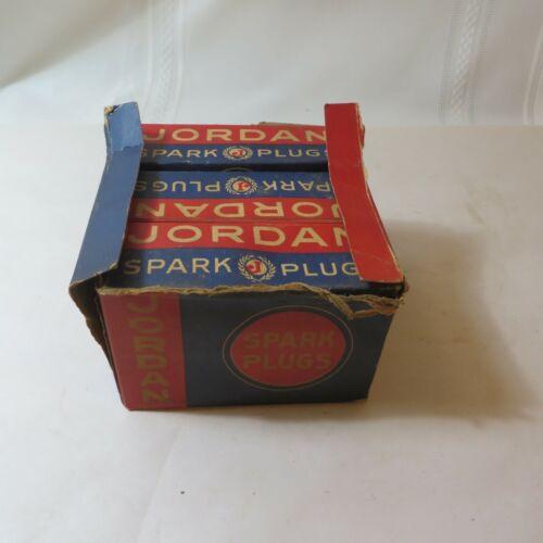BOX OF 6 NOS VINTAGE JORDAN J3 SPARK PLUGS