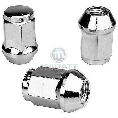 20 Chrome Wheel Nuts for Rims Ford Mondeo & Estate B4Y/ B5Y/ BWY / BA7