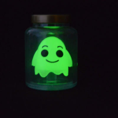 2pcs Funko Rick and Morty Ghost in a Jar Glow in the Dark