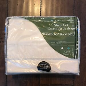 Bamboo Bed Sheets (Queen Size)