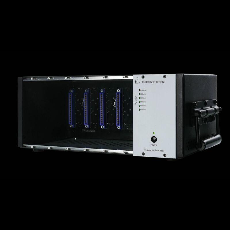 Rupert Neve Designs R6 Six Space 500 Series Rack
