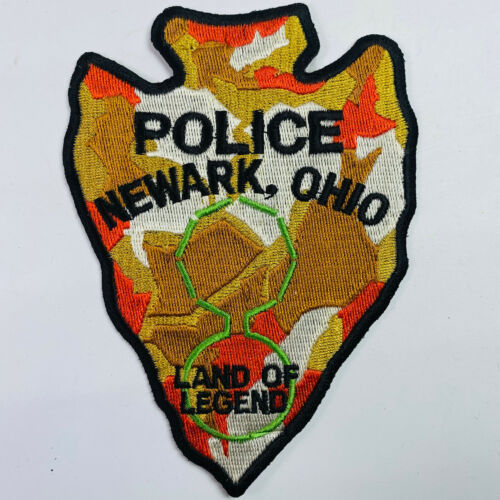 Newark Police Licking County Ohio OH Patch (B6)