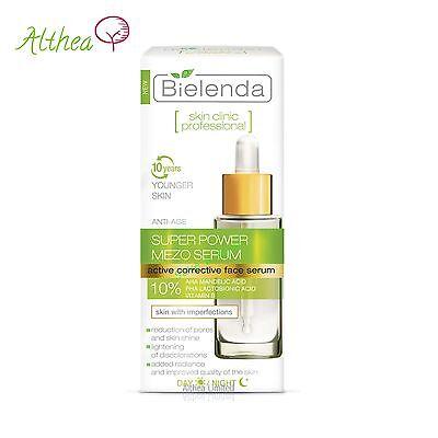 SKIN CLINIC PROFESSIONAL Correcting ANTI-AGE Day/Night SUPER MEZO Serum Bielenda