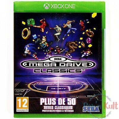 Jeu Sega Mega Drive Classics [VF] sur Xbox One NEUF sous Blister