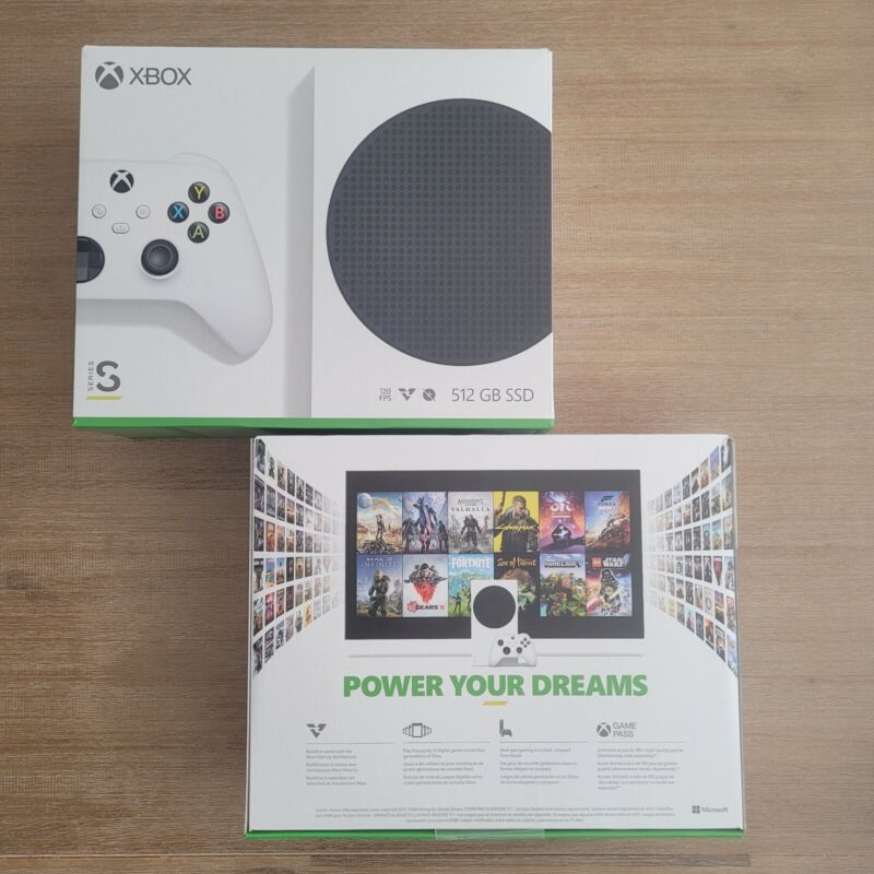 🚀 FREE 2 DAY SHIP ✅ NEW 🔥 Microsoft Xbox Series S 512GB Console & Controller