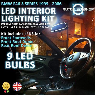 BMW E91 3 SERIES ESTATE LED INTERIOR UPGRADE COMPLETE KIT SET BULBS XENON WHITE