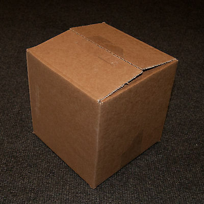 """Pack of 25 - 6"""" Cube (6x6x6"""") Single Wall Mailing Cardboard Packing Postal Boxes"""