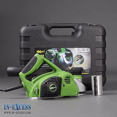 Exakt Planer/Sander Sp180 Built in Dust Removal System 1200w Comes in Hard Case