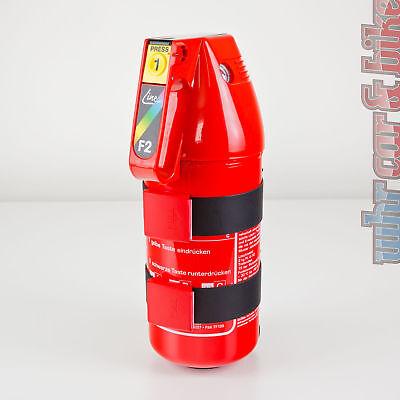 Gloria F2GM 2kg Auto-Pulverlöscher ABC Feuerlöscher KFZ-Halter Manometer