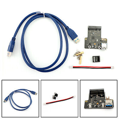 Pi Platte (X850 mSATA-SSD Festplatte Modul Stützen 1TB USB 3.0 Für Raspberry Pi 3 2 1 B+ AH)