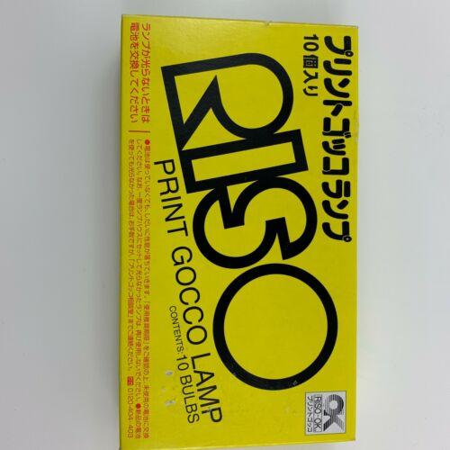 RISO Print Gocco Lamp (Contents 10 Bulbs) 10 Flash Light Lamp for Screen printer