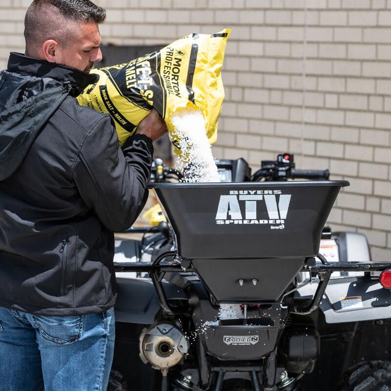 Buyers 12 Volt  ATV Spreader - 100-Lb. Capacity, Model# ATVS100