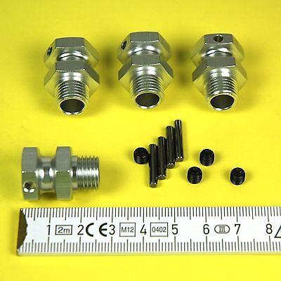 Spurverbreiterung 1/8 für  17 mm Radmitnehmer, 4 Stk., Carson 205645