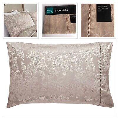 Sanderson ~ LILA ~ oxford pillowcase PAIR BNWT ~ Jacquard Aubergine