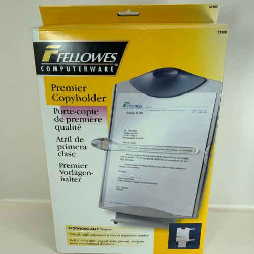 Fellowes 22100 Premium Copyholder Ergonomically Designed New