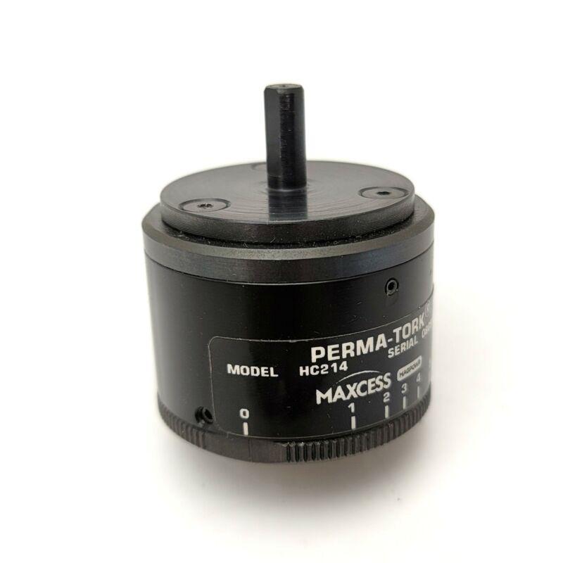 Maxcess Perma-Tork HC214 Permanent Magnet Clutch/Brake 1-20oz-in, 1,800RPPM, 10W