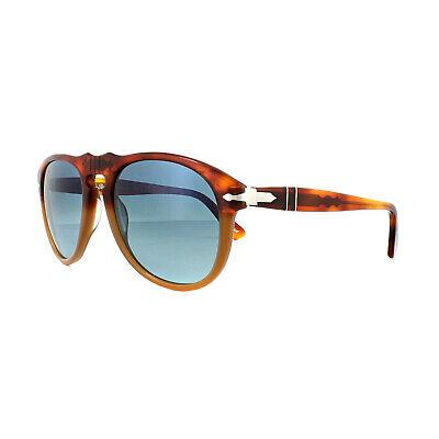 Persol Sunglasses 0649 1025S3 Resina e Sale Brown Blue Polarized (Persol Glasses Sale)
