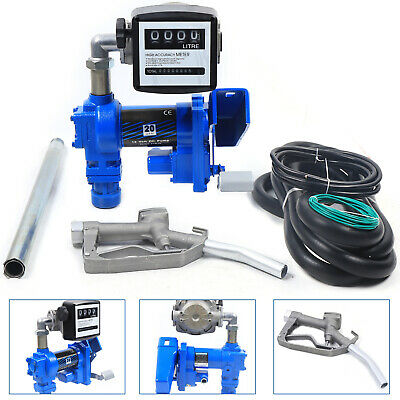 Gasoline Anti-explosive Fuel Transfer Pump 12v Dc 20gpm Diesel Gas Kit 265w New