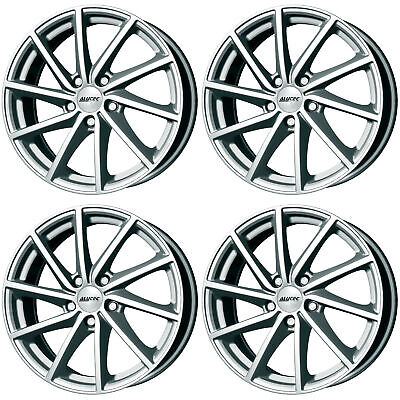 4 x Alutec Singa Polar Silver Alloy Wheels 15x6 Inch 4x98 PCD ET35 58.1mm CB for sale  Shipping to South Africa