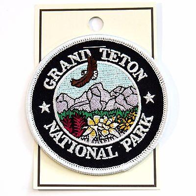 Official Grand Teton National Park Souvenir Patch Wyoming