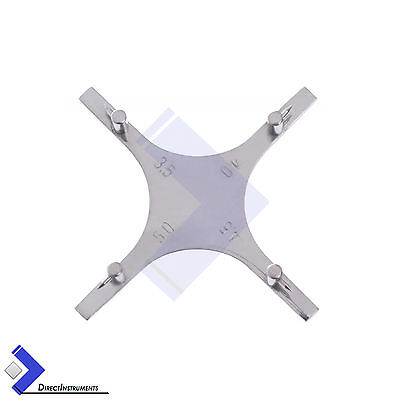 Dental Orthodontic Boone Star-like Gauge Bracket Positioning Accurate Placement
