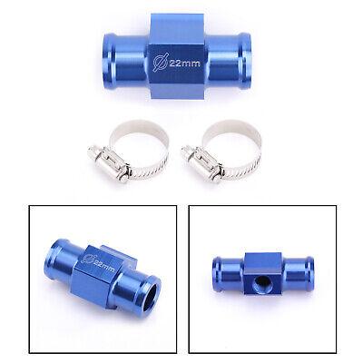 32mm Water Temp Joint Pipe Sensor Adaptor Gauge Radiator Hose Adapter Blue US TT
