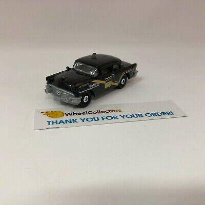1956 Buick Century Police * Black * Matchbox LOOSE * WK9
