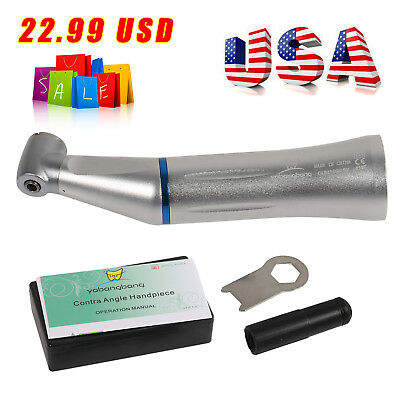 Kavo Style Dental Inner Water Slow Low Speed Contra Angle Handpiece Push Button