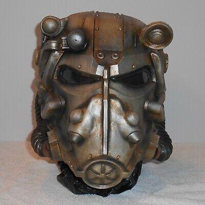 Halloween Costume Armor (FALLOUT POWER ARMOR HELMET Halloween Costume Prop Mask Head Shelter Video)