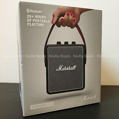 MARSHALL Stockwell II Portable Bluetooth Speaker, Black - NEW & SEALED