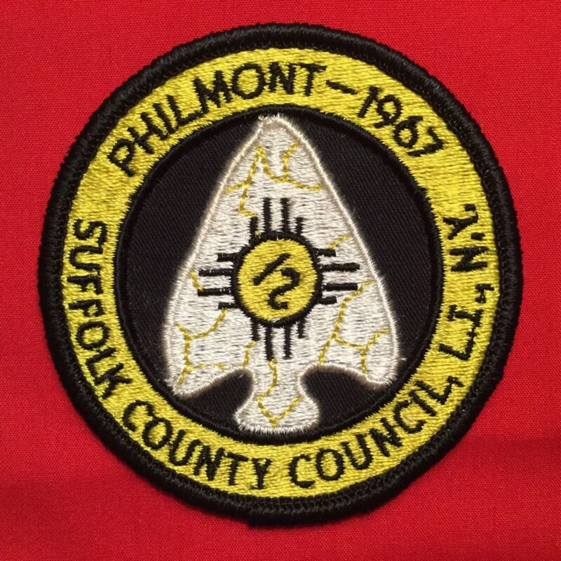 Boy Scout 1967 Suffolk County Council N.Y. Philmont Contingent Patch