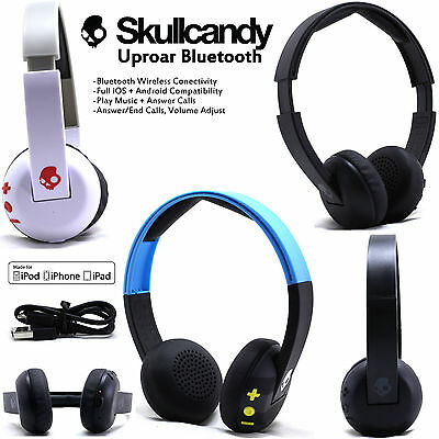 New Skullcandy Uproar Bluetooth Wireless 4 0 Headset Supreme Sound With Mic