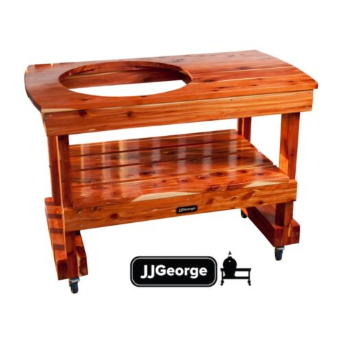 Compact Big Green Egg Table with Cover (Free Shipping!)