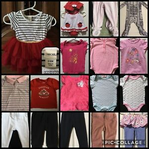 Girl's 3-6 Mth. Clothing Lot