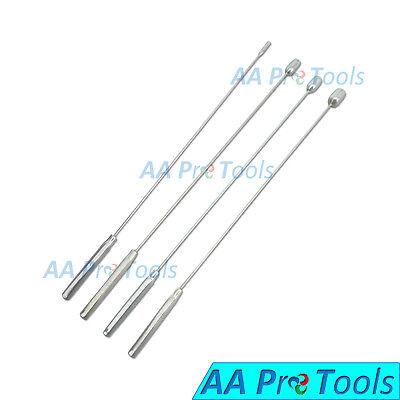 Aa Pro Bakes Rosebud Urethral Sounds Set - 4mm 9mm 10mm 12mm - New