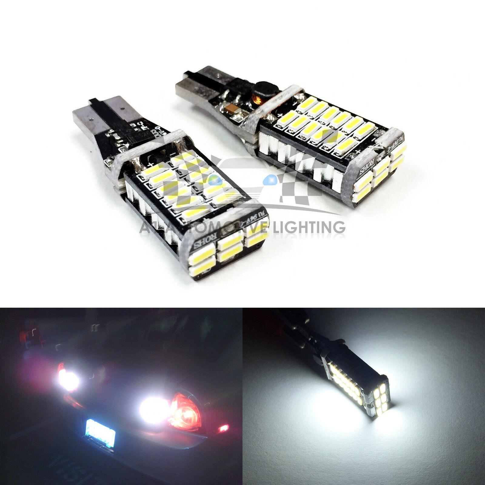 Car White lamps Canbus Error Free T15-5050 LED Backup Reverse Light 15W CA