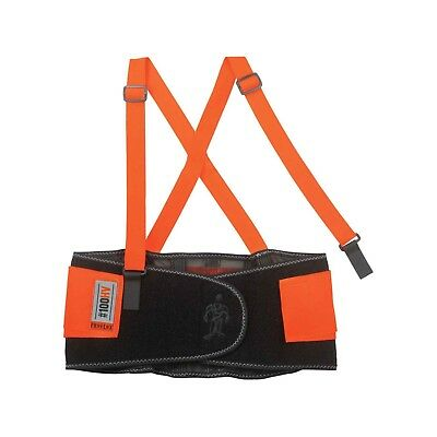 Ergodyne ProFlex 100HV Economy Hi-Vis Back Support Belt, Orange