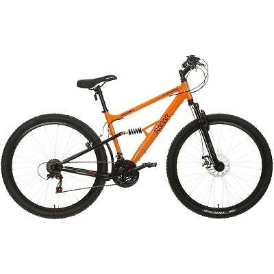 Apollo Radar MTB Bicycle Mens Mountain Bike Steel Frame Disc V Brakes 18 Gears