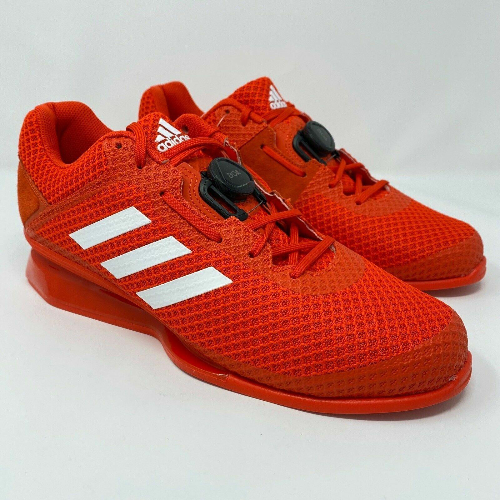 Détails sur Adidas Leistung 16 II Haltérophilie Boa Chaussures Crossfit Gym Red (BD7161) Sz