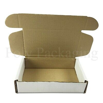 500 x WHITE Posting Boxes 200x120x50mm(8x5x2