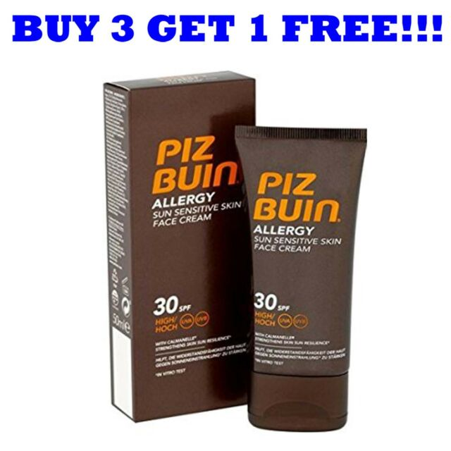 Piz Buin Allergy Face Cream 50ml SPF30
