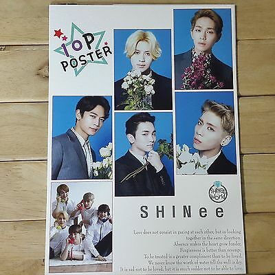 SHINee Mini Photo Poster 10 sheets A4 K-POP STAR GOODS Gift New
