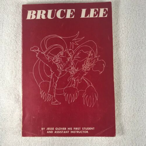 Bruce Lee by Jesse Glover - Rare Book - 1976