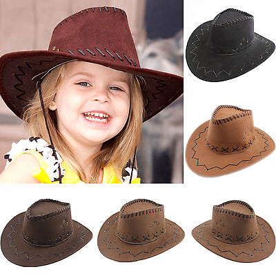 Halloween Style Western Cowgirl Cowboy Hat For Kid Boys Gilrs Party Costumes Cap](Cowgirls Costumes For Kids)