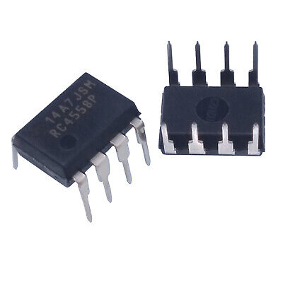 Us Stock 20pcs Rc4558p Rc4558 Dual Operational Amplifier Dip-8 New Ic